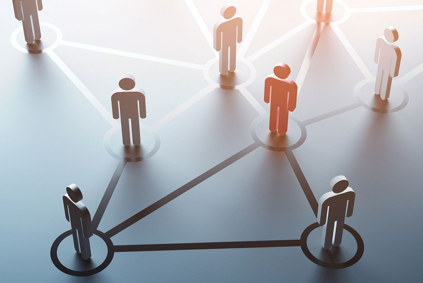 High self-monitoring individuals exhibit ease and social skills when interacting with others that enable them to be centrally connected in organizational networks. (Shutterstock/File)