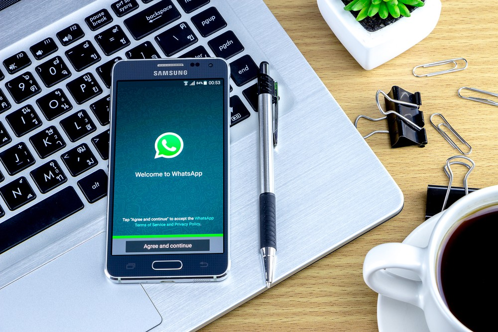 Facebook-owned WhatsApp is trying to make its app simpler for users by adding the ability to refer to old messages, or messages that are deep in the rapidfire banter. (Shutterstock.com/Chonlachai Panprommas)