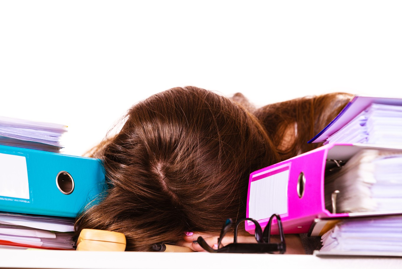 Working overtime for long periods of time causes our bodies to release stress hormones called cortisol. (Shutterstock/File)